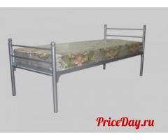 Металлические кровати для интернатов, ВУЗов, в общежития