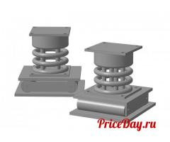 Блок катковый, блоки подвесок трубопроводов, блок пружинный