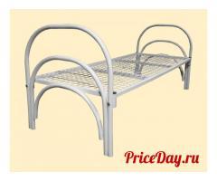 Кровати с металлическими спинками различной конфигурации