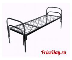 Удобные и крепкие кровати с сеткой, металлические кровати
